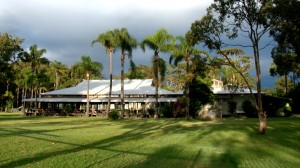 Valla Beach Tourist Park woolshed by eric kyle