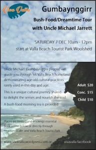 uncle michael jarrett bushfood tour