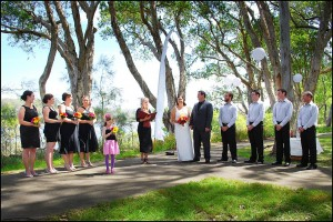 Valla Beach Tourist Park wedding ceremonies